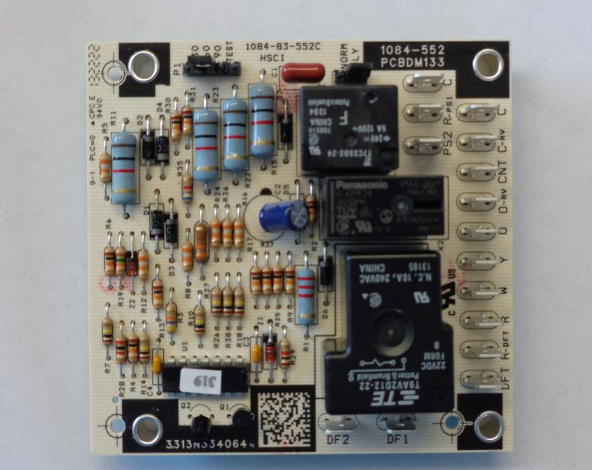 goodman amana new heat pump defrost control board pcbdm133s click for full size image