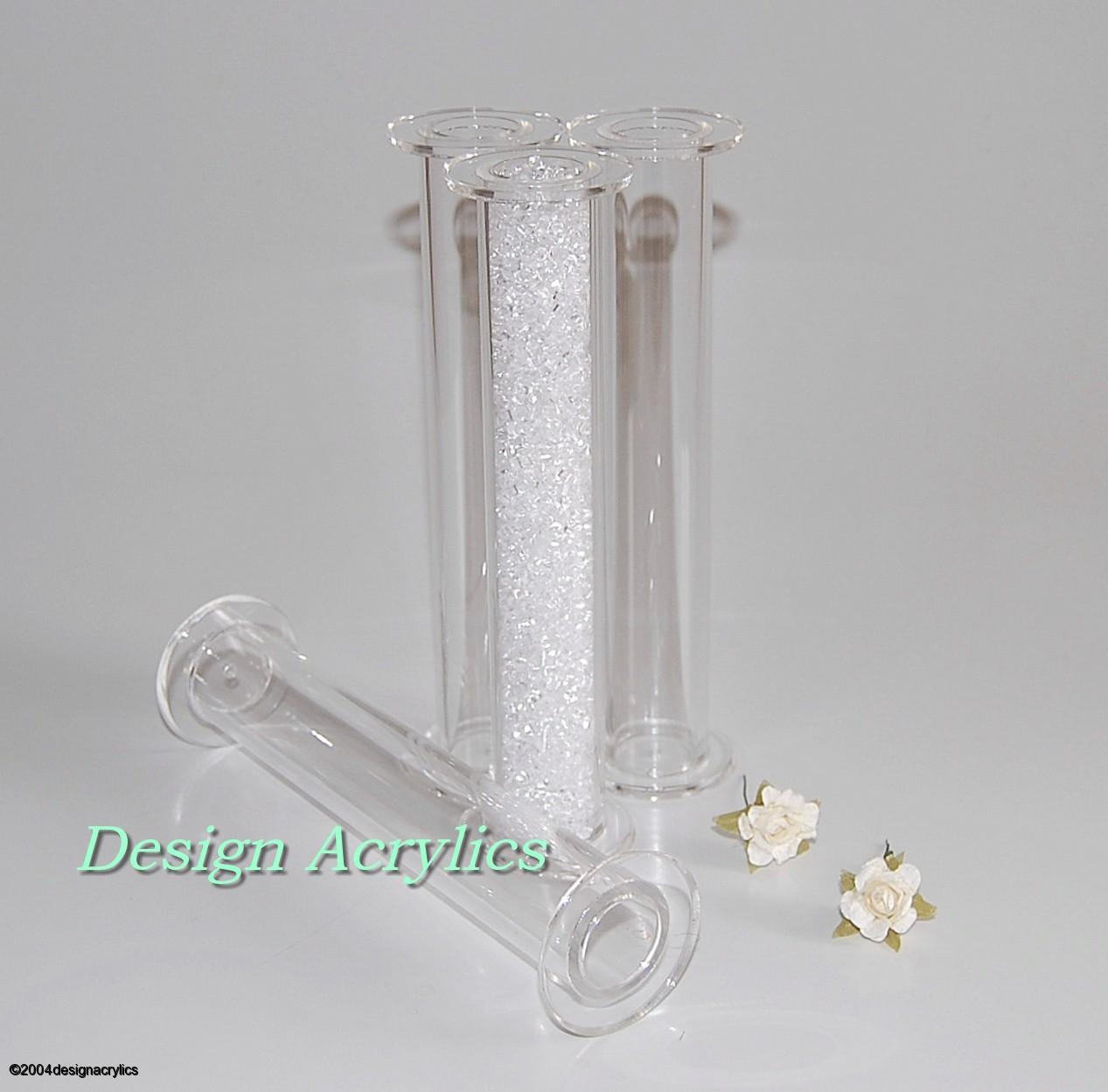 Clear Cake Stand Pillars