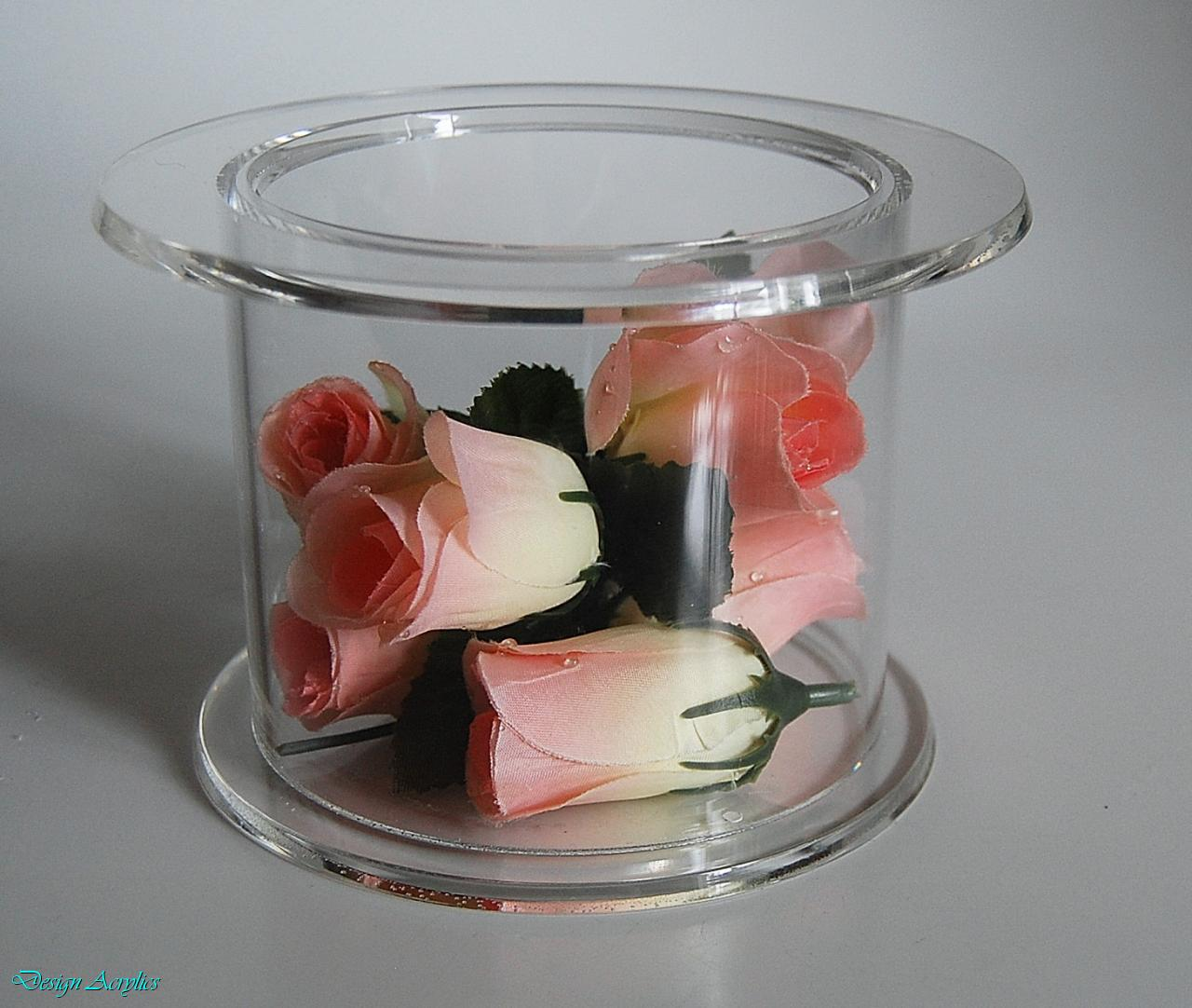 Details About ROUND ACRYLIC CAKE STAND PARTY WEDDING DISPLAY