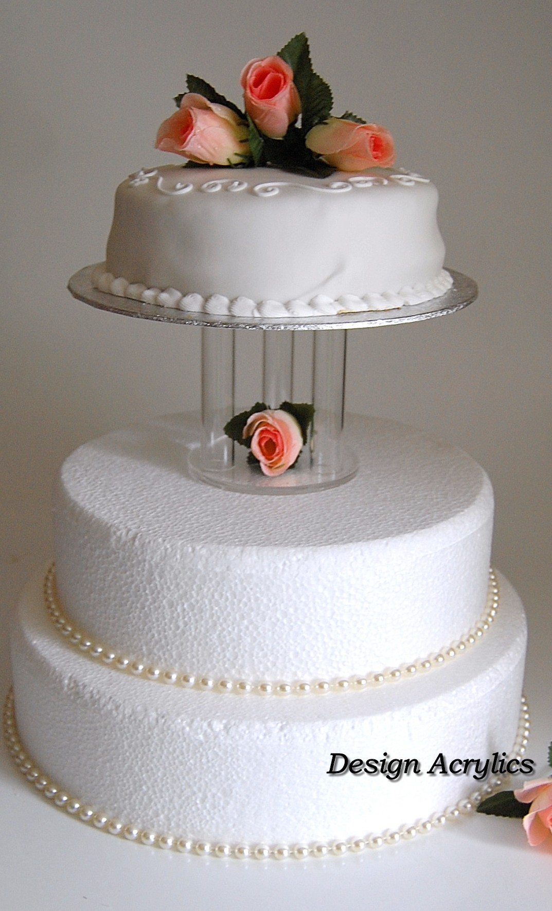 wedding cake separator clear mini acrylic cage separator wedding cake stand ebay 24271