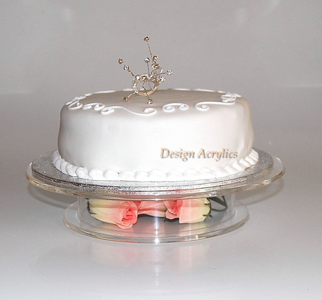 details about clear acrylic stacked pedestal wedding cake stand 14 0