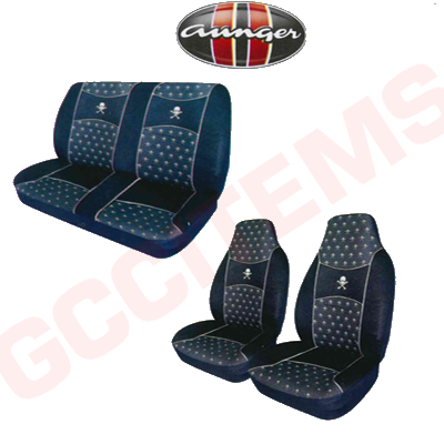 Front Bucket And Matching Rear Bench Seat Covers