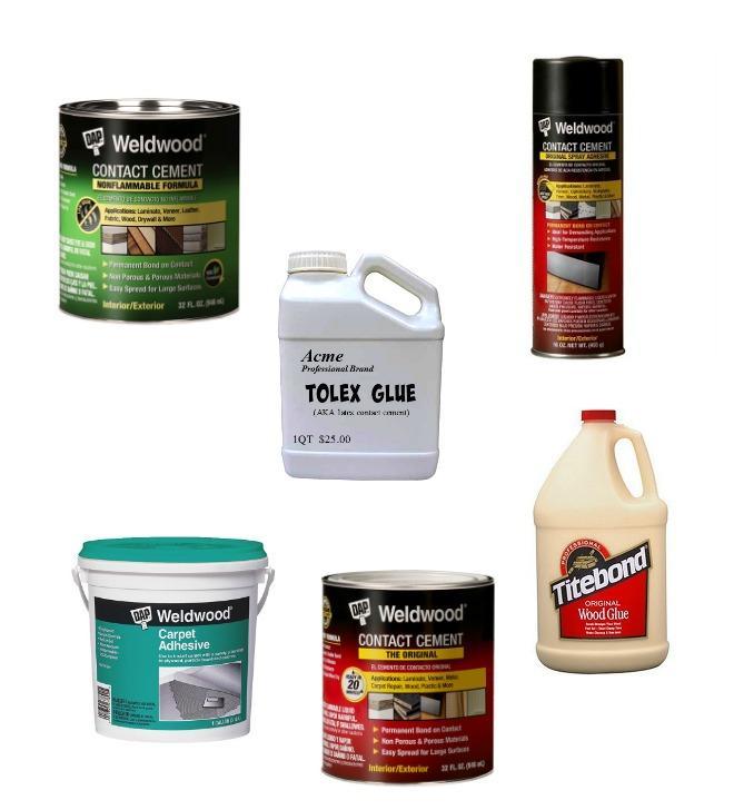 Tolex glue options