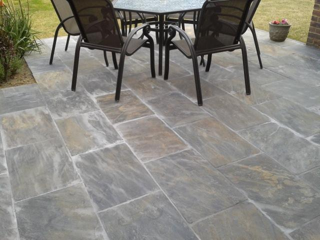 natural slate paving patio slabs cheap yard clearance