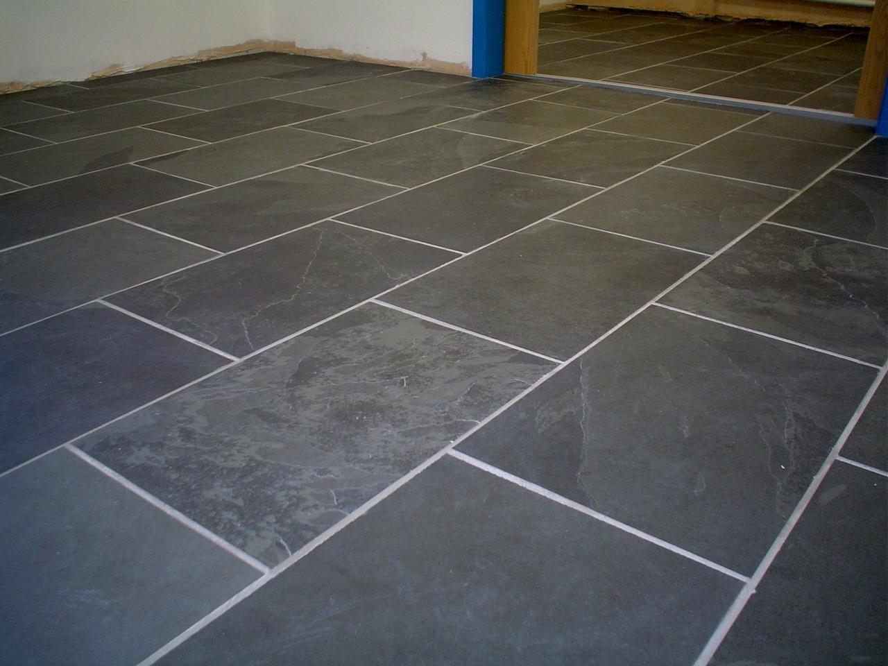 800x400 brazilian black grey slate tiles for Slate flooring