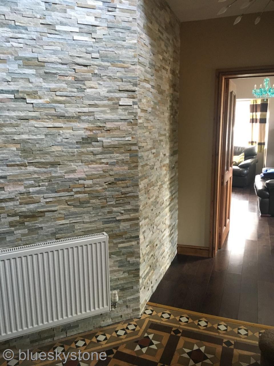 Stone Wall Tiles Kitchen Slate Wall Tiles Ebay