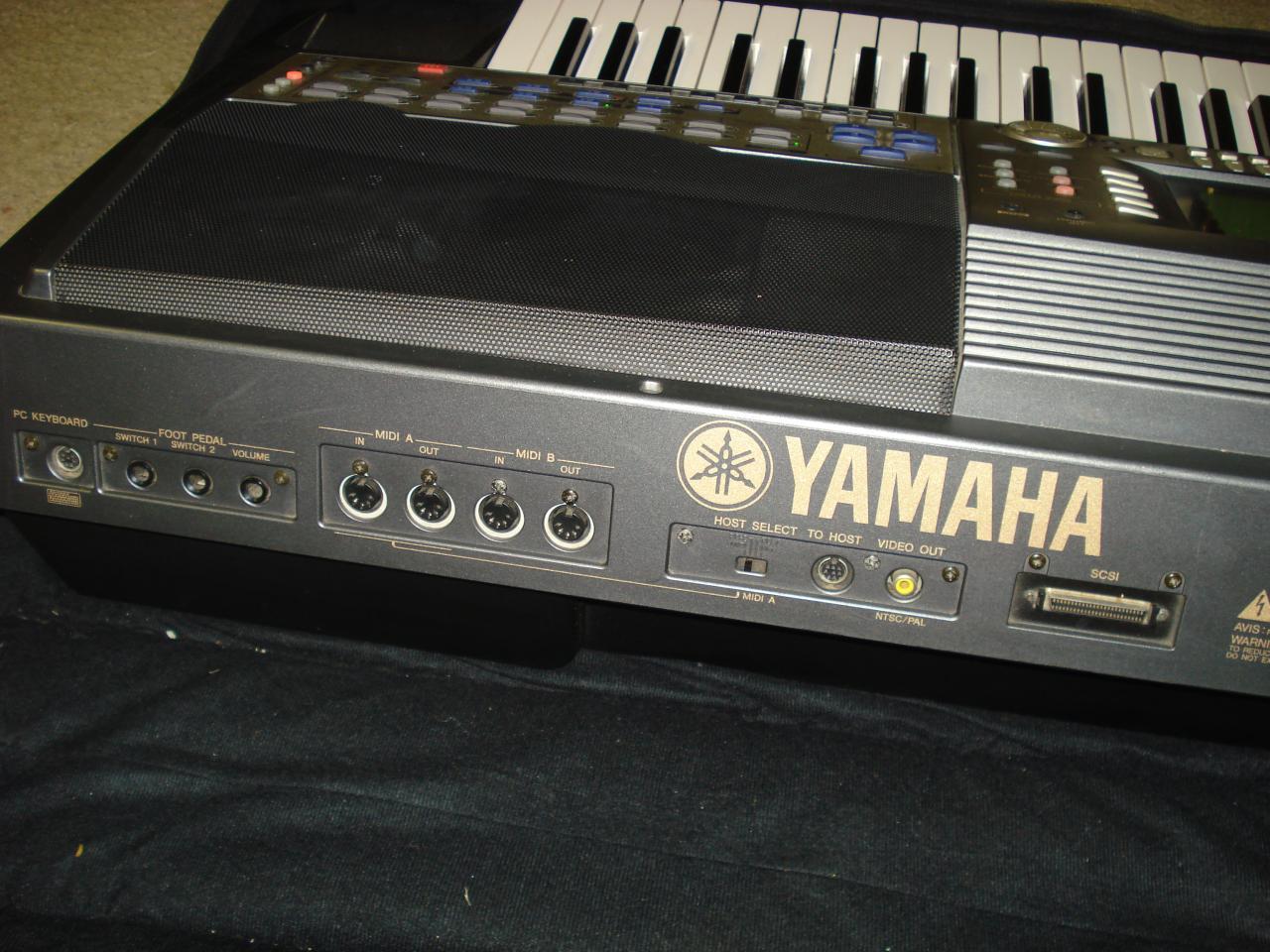 yamaha psr 9000 61 key arranger workstation keyboard. Black Bedroom Furniture Sets. Home Design Ideas