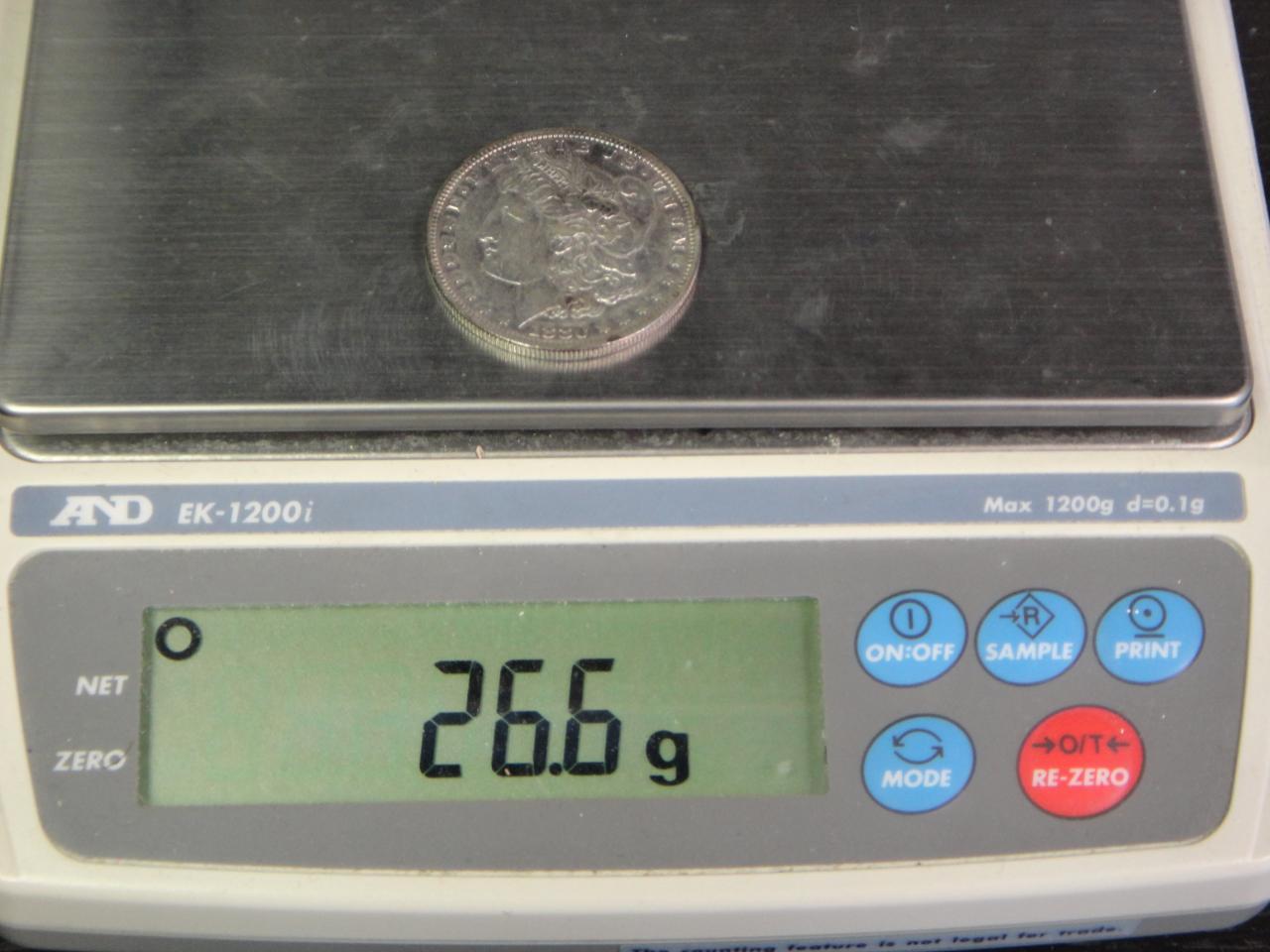 1880s morgan silver dollar price guide
