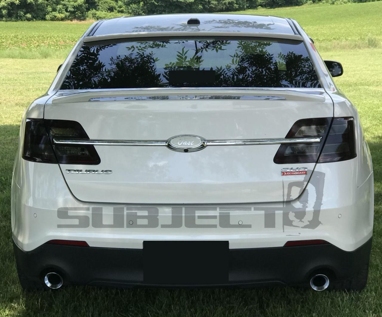 13 19 Ford Taurus Sho Tail Light Reflector Tint Cover