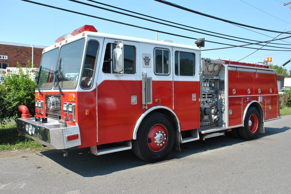 1993 Kme Fire Apparatus Pumper Beautiful Truck