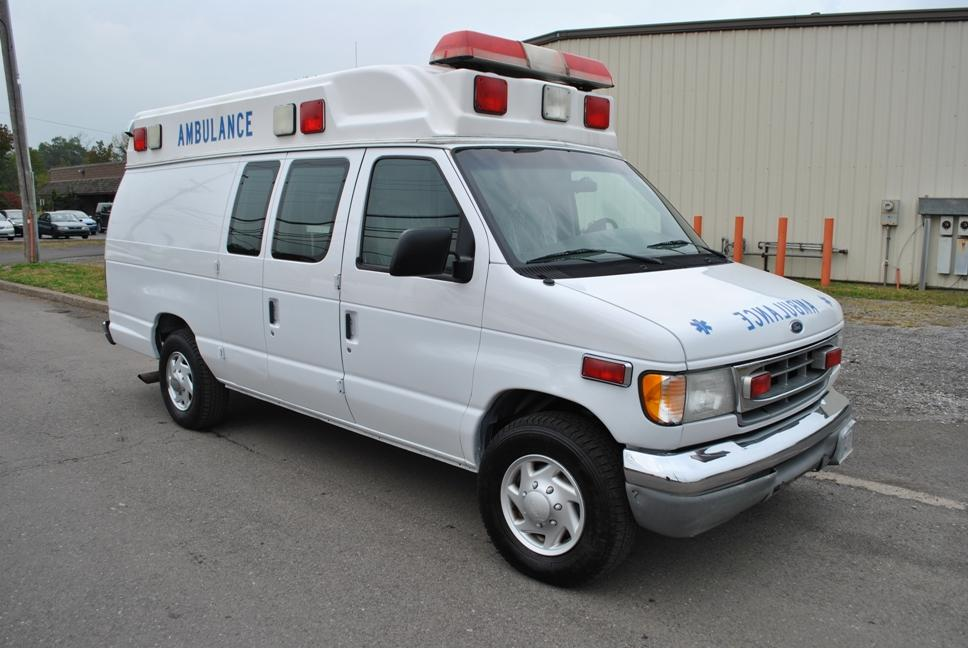 2002 Ford E350 Ambulance Reliable 7 3 Engine Images