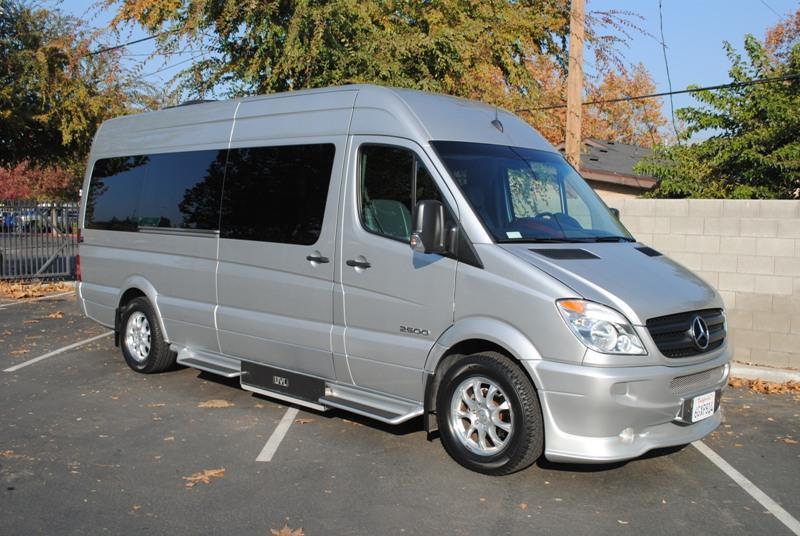 Luxury Wheelchair Van 2008 Sprinter 2500 By Mercedes Benz