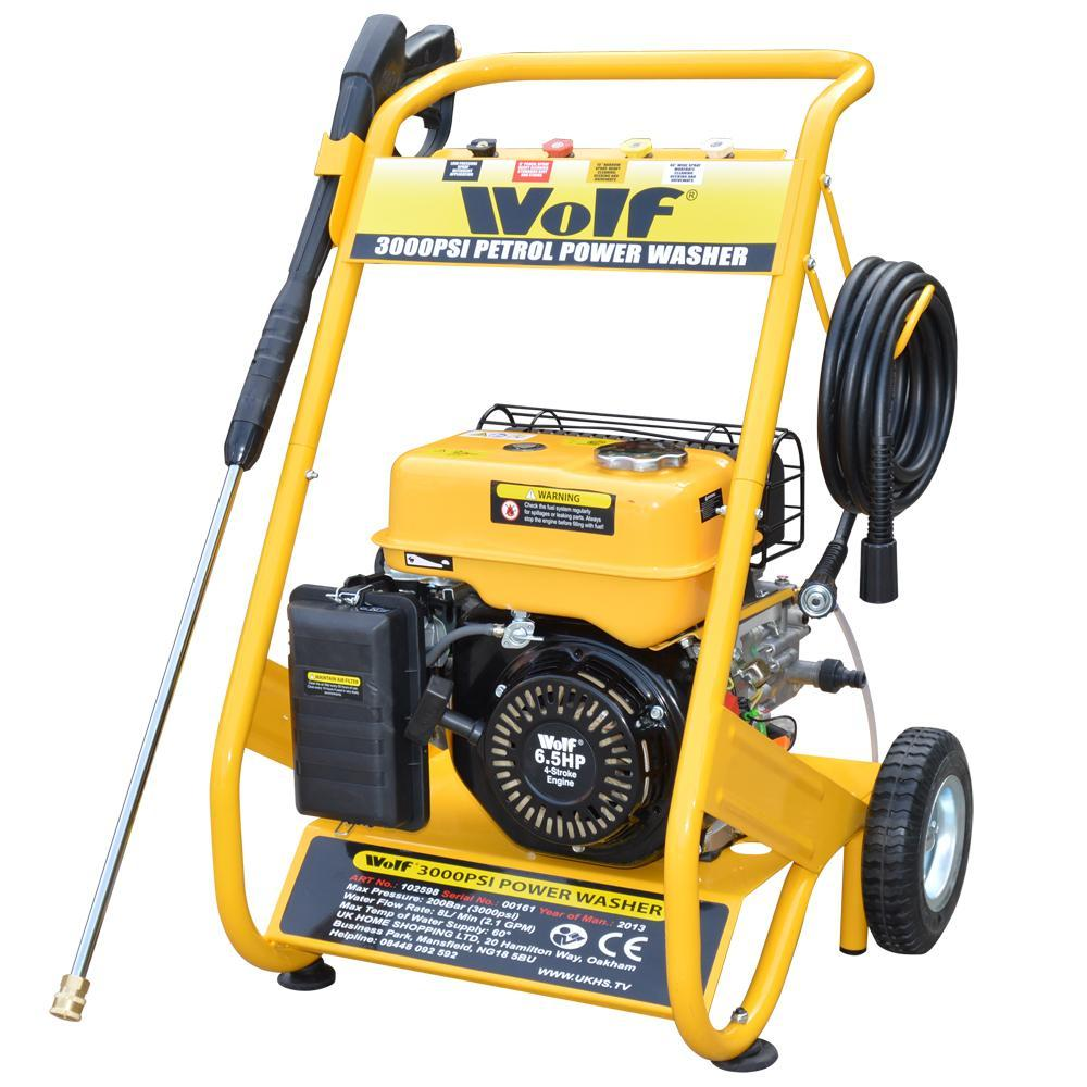 WOLF 200 BAR 3000PSI IDROPULITRICE TUBO DI RICAMBIO 5//10//15//20//25//30 M di HD