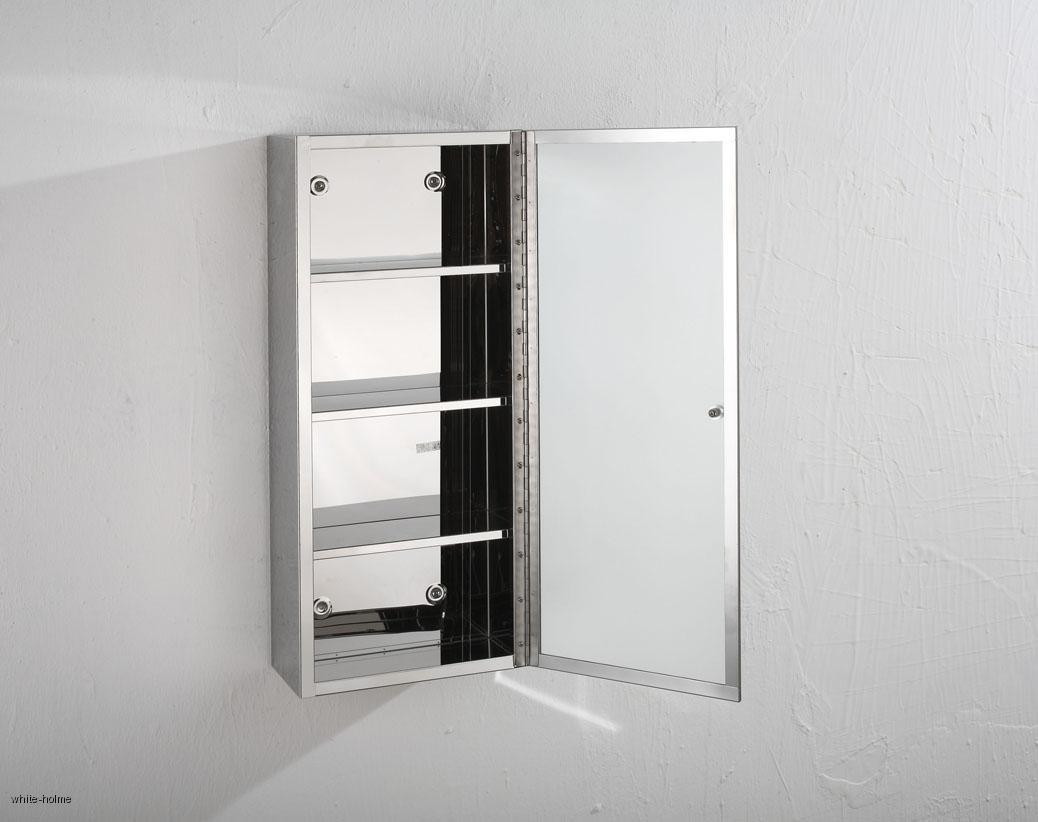 single door bathroom mirror wall storage cabinet 25cm x 80cm ebay