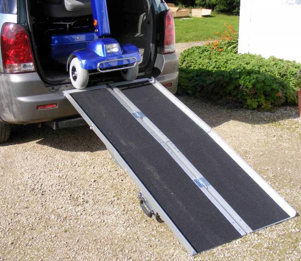 Electric Scooter Car Ramp