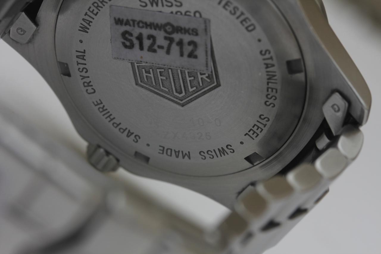 wk1110.ft8002 Tag Heuer 2000 Classic Quartz Mens Watch