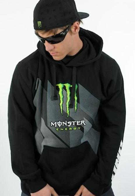 one industries men 39 s monster energy moto mx hoodie. Black Bedroom Furniture Sets. Home Design Ideas