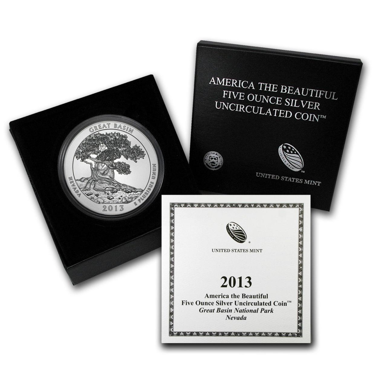 2013 5 oz Silver ATB Great Basin National Park Nevada