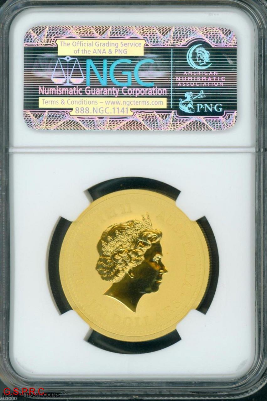 2000 G 100 Australia 1 Oz Gold Coin Year Of The Dragon