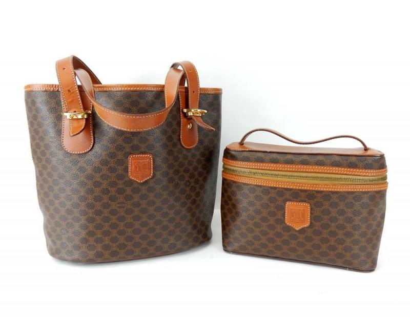 celine monogram shoulder bag