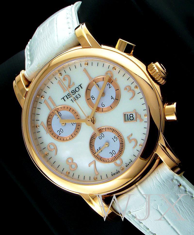 Tissot T-Classic T050.217.36.112.00 Womens Chrono Watch ...