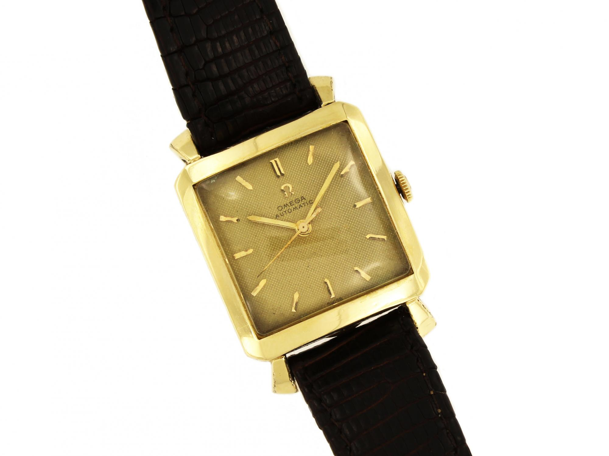 products ladies omega preadored filled watches s band vintage to gold watch leather
