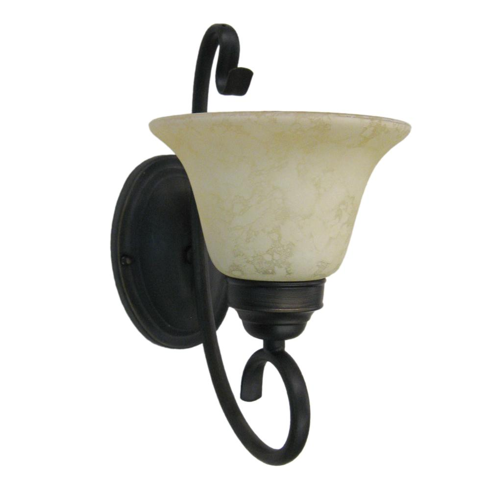 OIL RUBBED BRONZE WALL SCONCE - Images hosted at ...