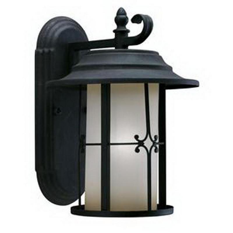 Vintage Exterior Wall Lights : ANTIQUE BLACK EXTERIOR WALL LIGHT FIXTURE*NIB* eBay