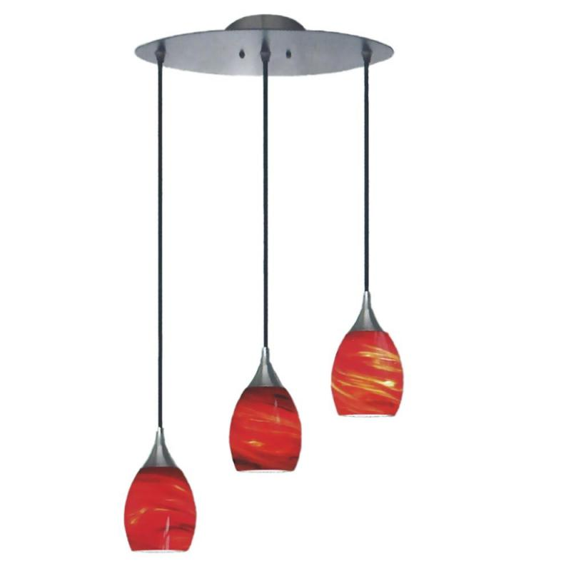 Red Pendant Light Red Pendant Light 6 Riviera Small Red Cage