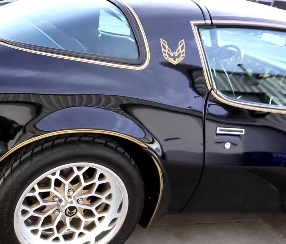 Trans AM Firebird Sail Panel Eagle Graphic Decals Formula WS6 93-97 Style