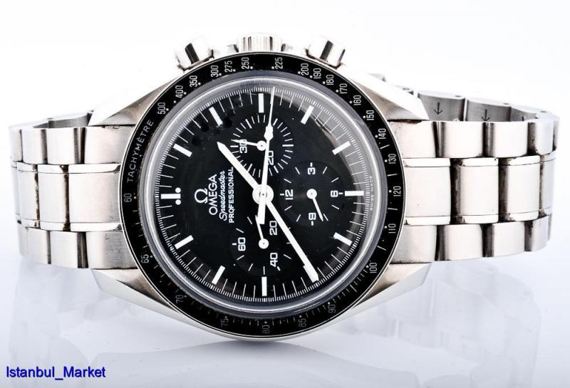 OMEGA SPEEDMASTER THE FIRST WATCH WORN ON THE MOON MANUEL ...