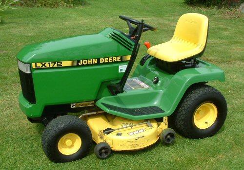 John Deere 172 Lawn Tractor : Repair manual john deere lx