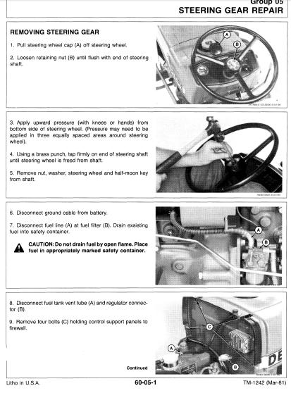 john deere 650g service manual