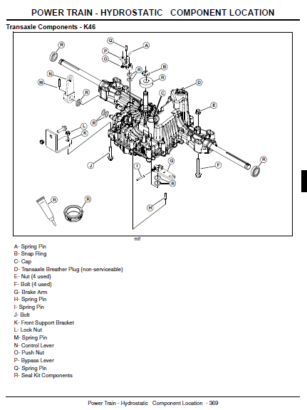 Wiring Diagram For John Deere X304 : John deere wiring diagram