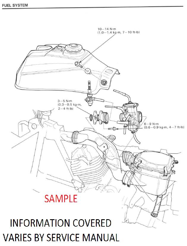 suzuki king quad 300 service manual