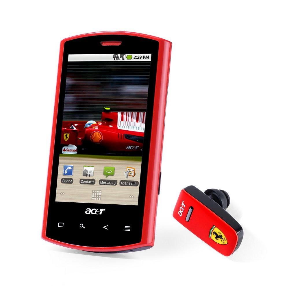 acer liquid e ferrari edition android mobile phone images hosted at. Black Bedroom Furniture Sets. Home Design Ideas