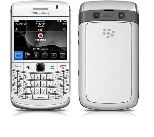 blackberry 9780 white back. BlackBerry® BOLD™ 9780 STYLE