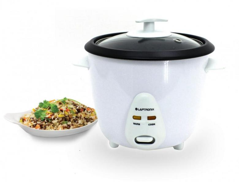 Electric Rice Steamer ~ Electric rice cooker pot warmer non stick litre