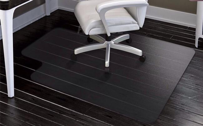 Hardwood floor computer office chair mat