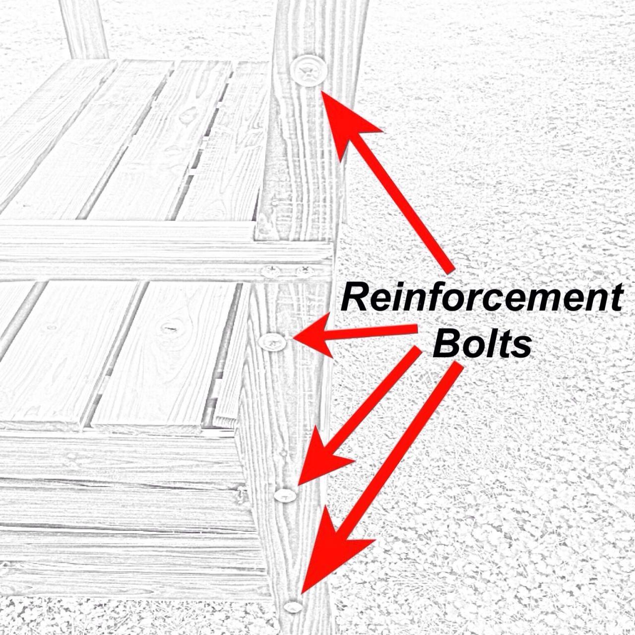 Storage park bench