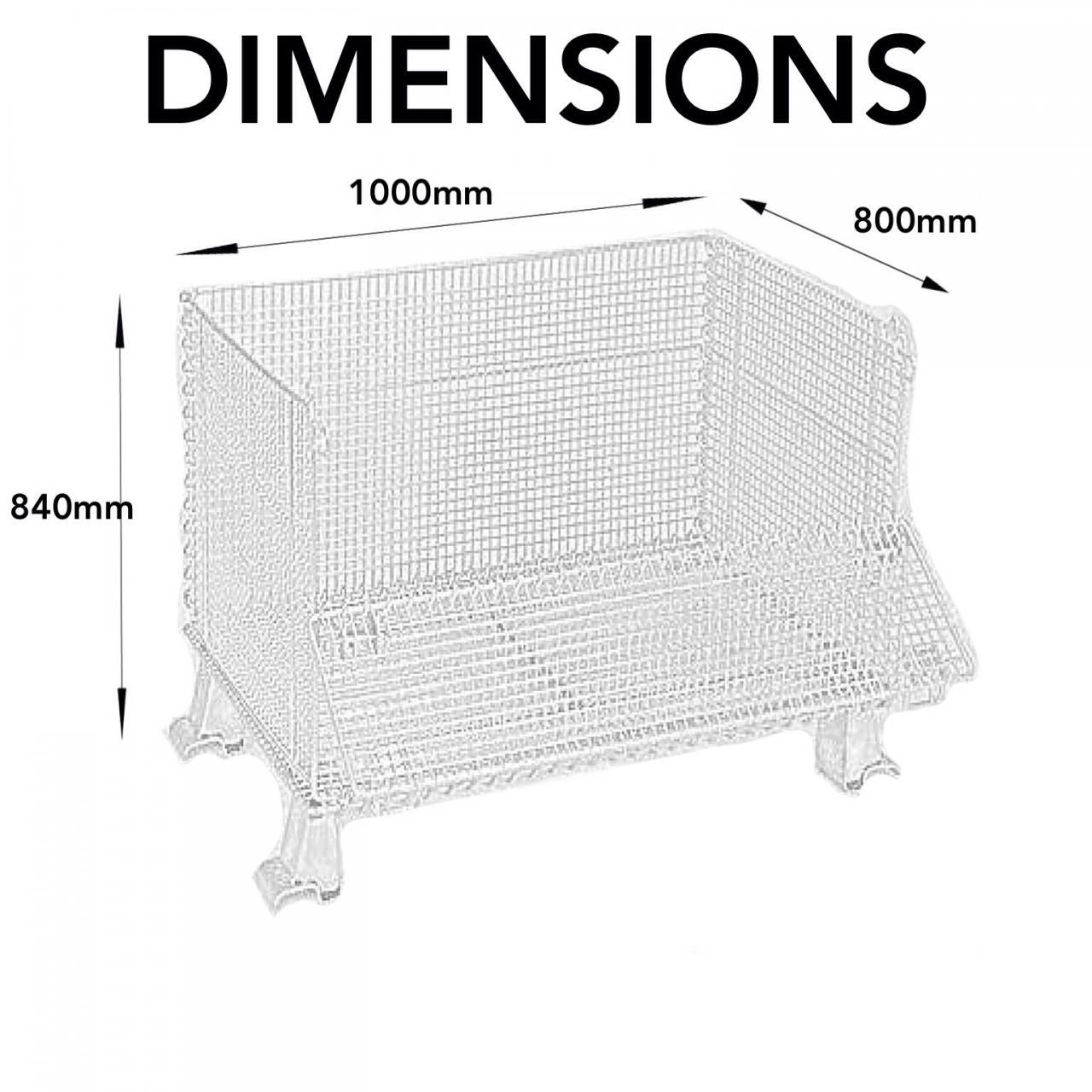 Stillage wire cage