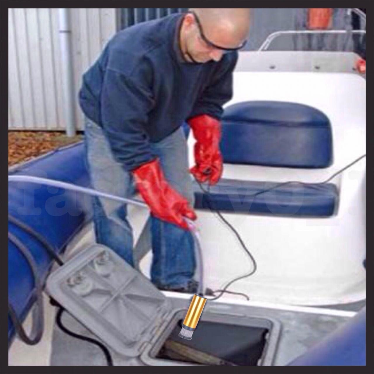 12V diesel aluminium pump