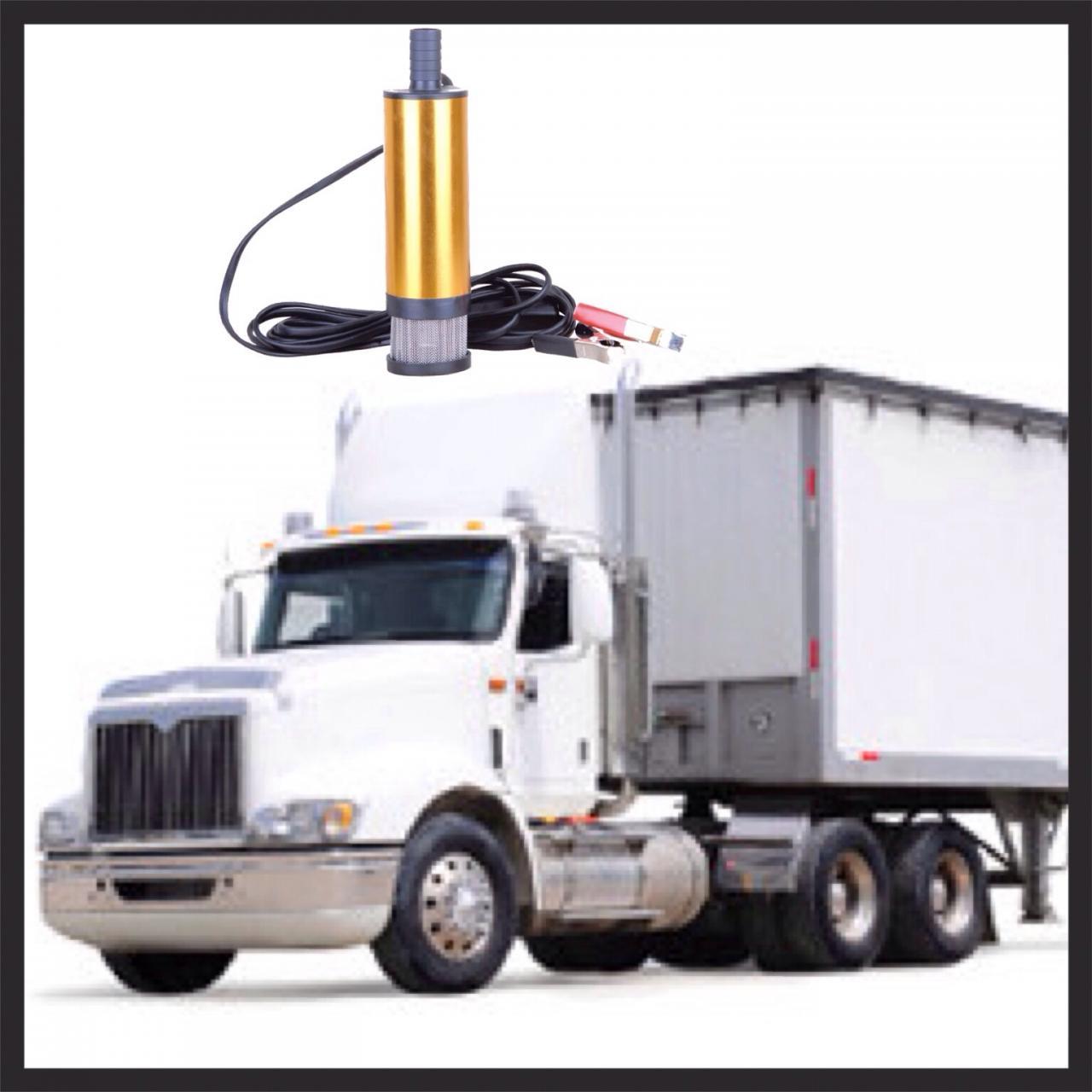 12V aluminium diesel transfer pump