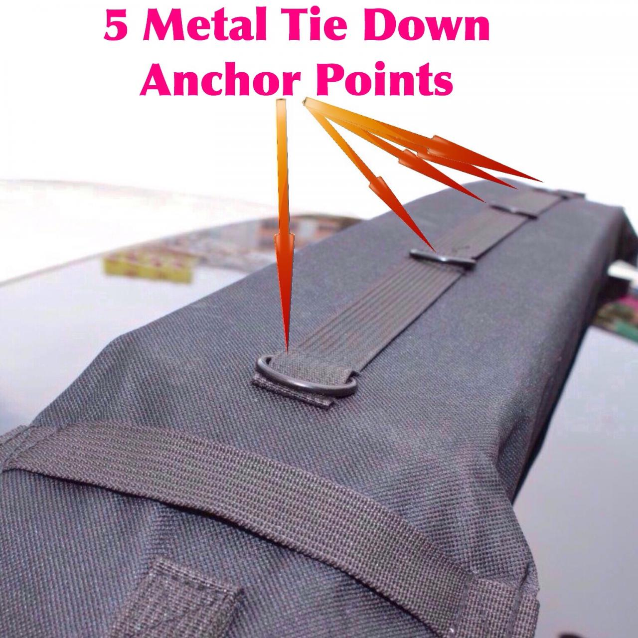 Universal soft roof rack