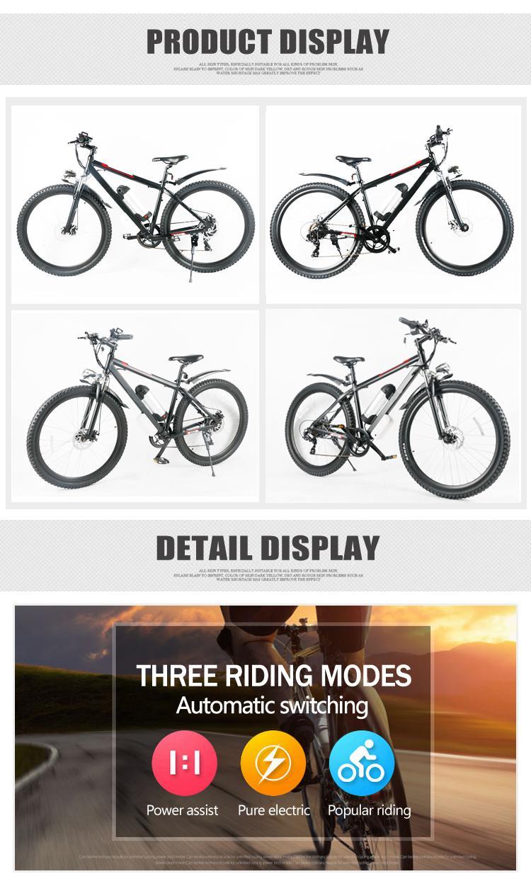 29 Quot 250w Electric Alloy Mountain Bike Shimano 7 Speed 36v 9ah