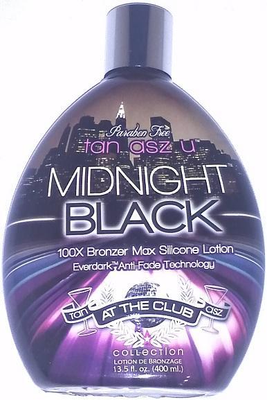 Midnight Black 100x Bronzer Dark Indoor Tanning Lotion By