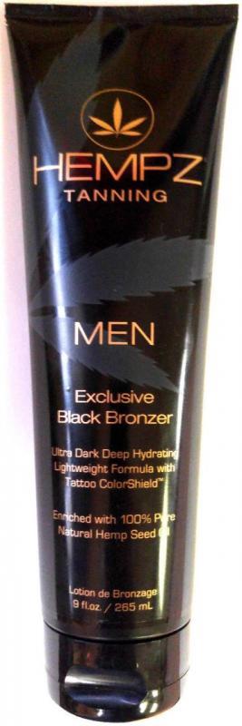 Hempz Men S Black Bronzer Tanning Lotion By Supre Tan