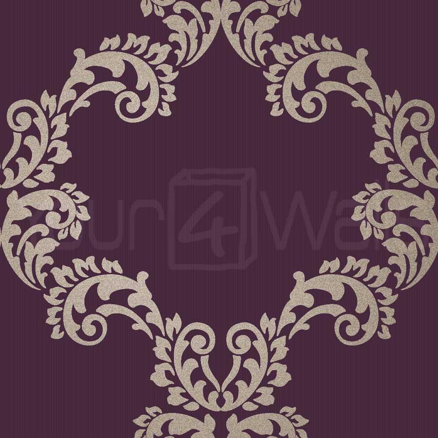 purple damask wallpaper - photo #21