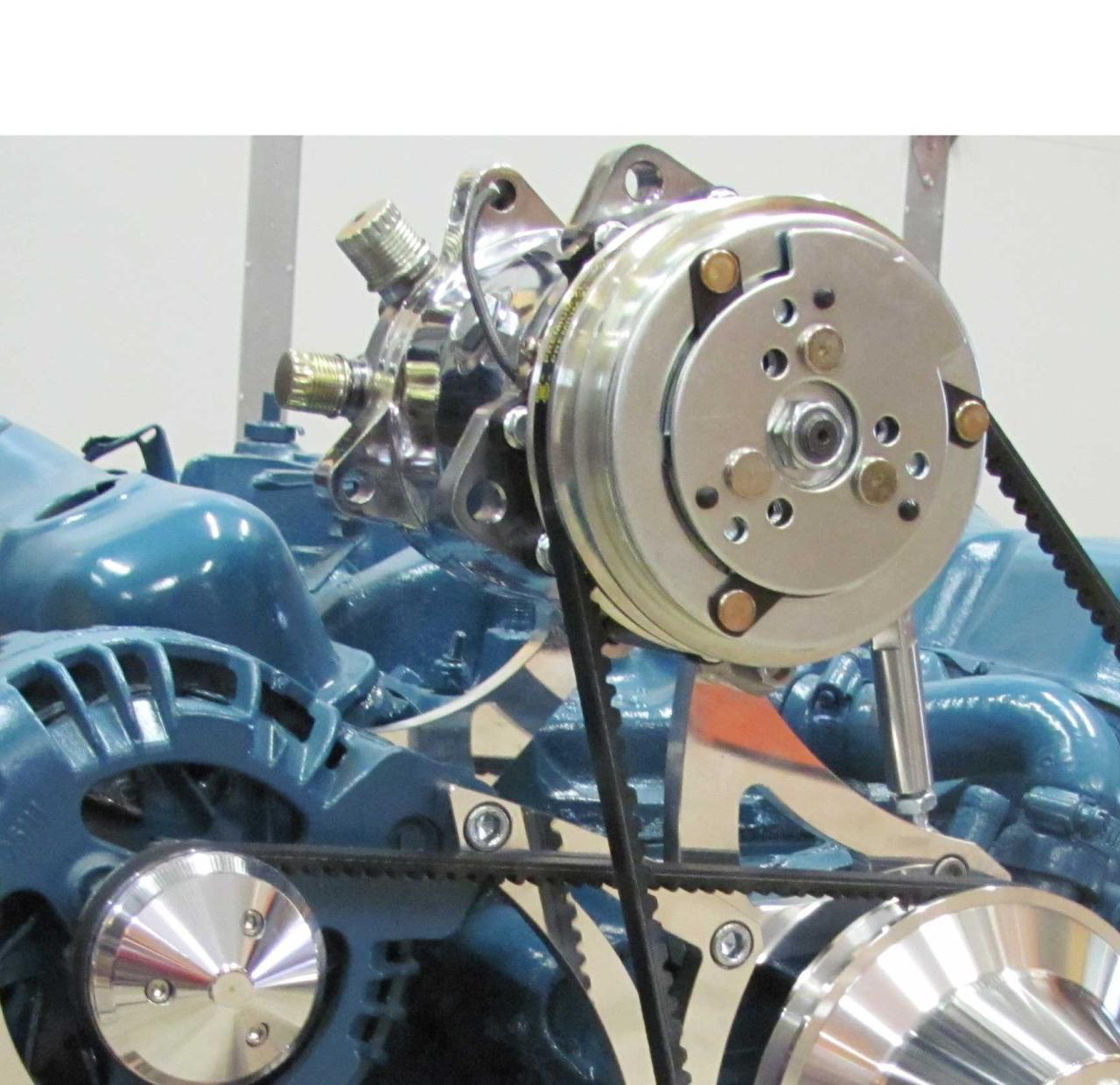 Chrysler Small Block Ac Bracket Sanden Compressor
