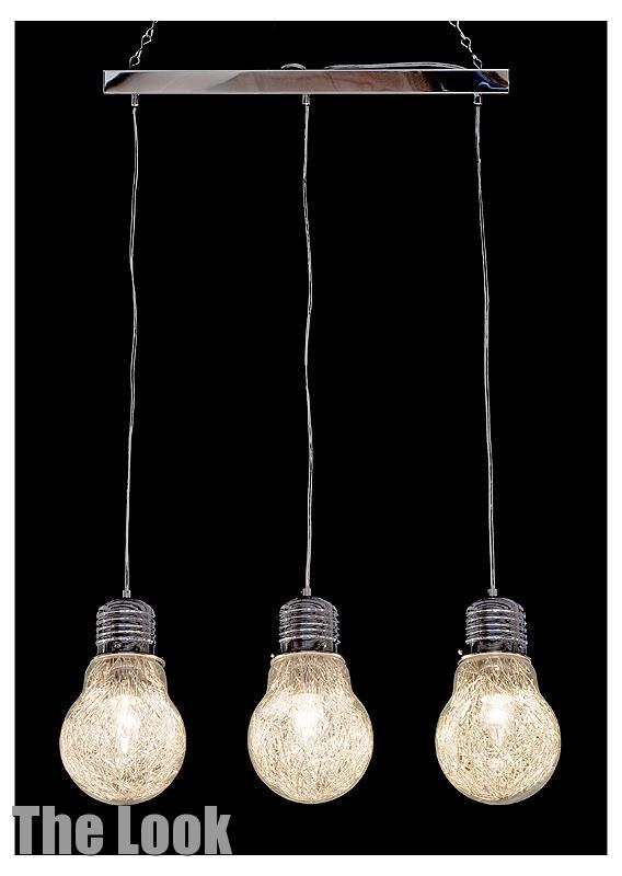 unusual funky novelty 3 bulb chandelier matching items. Black Bedroom Furniture Sets. Home Design Ideas